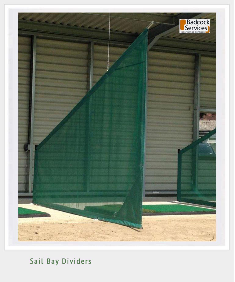 Golf Range Practice Bay Dividers