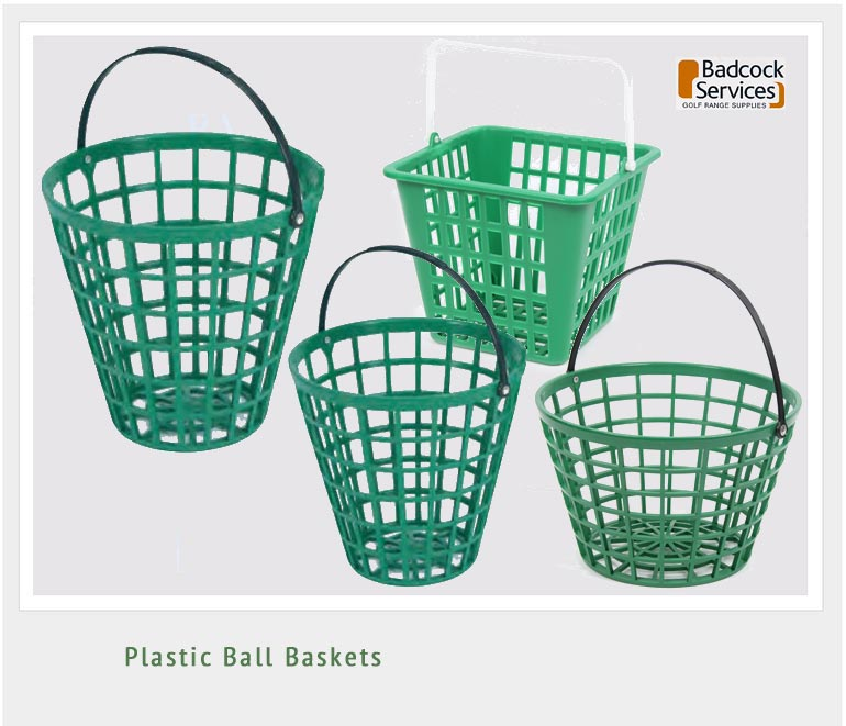 Badcock Golf Practice Golfball Baskets And Trays Plastic